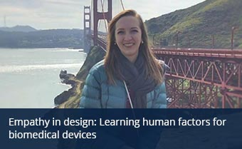 Empathy in design: Learning human factors for biomedical devices